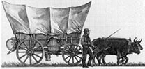 American pioneers trekking across the United States put silver coins in their drinking flasks and containers