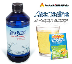 Taking Silver Biotics colloidal silver along with Emergen-C Immune + plus we can see our cold and flu symptoms decrease more rapidly