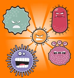 Silver has the ability to destroy pathogenic microbes like viruses, bacteria and fungus that otherwise attack our body and cause illness