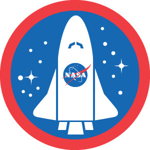 NASA space shuttle logo. After evaluating over 20 water purification systems NASA settled on using a silver based system - This was in the 1970's