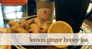SuperTea – Lemon Ginger and Honey